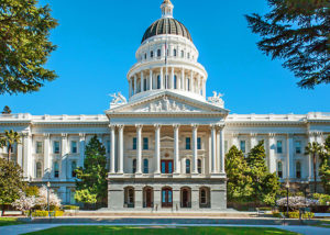 California Capitol Building in Sacramento