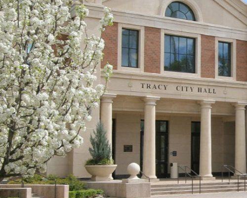 Tracy-City Hall Plaza